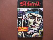 AREDIT  : SIDERAL  n° 43 (1974)  Comics pocket