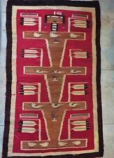 Rare Rug   Navajo Yei pictorial       great condition  28 inches x 46 inches