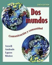 Dos mundos Student Edition with Online Learning Center Bind-in Passcode (McGra..