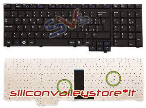 Tastiera Samsung NP-R730-JB09UK NP-R730-JB09DE NP-R730-JS01PL Nera ITA