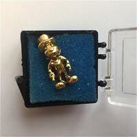OLD RARE LE Disney pin Jiminy Cricket Environmentality Cast Member Award Gold