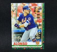 #1/1! 🚨2019 Topps Holiday Pete Alonso RC Gold Foil New York Mets Rookie One Of