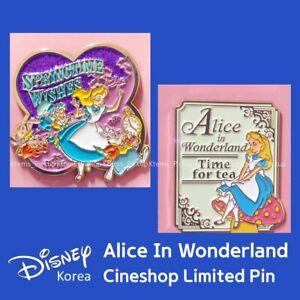 Disney Korea X Cineshop Limited Alice in wonderland teatime springtime Pin