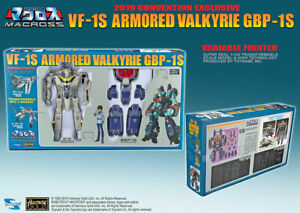 2019 Exclusive Macross VF-1S 1/100 Armored Valkyrie GBP-1S  - SDCC NEW