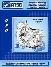 Porsche Cayenne 09D TR60SN 6 Speed RWD Auto Trans ATSG Workshop Manual
