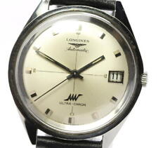 LONGINES Ultrachron Date Antique cal.431 Silver Dial Automatic Men's_548280