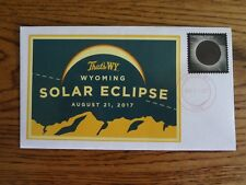 TOTAL ECLIPSE 2017 FDC ENVELOPE CANCELLED IN CASPER, WY.
