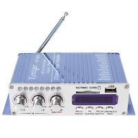 Mini HiFi USB SD DVD FM Audio Stereo Radio MP3 Speaker Car Bluetooth Amplifier