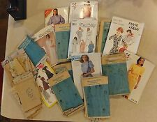 VTG LOT 15+ SEWING PATTERNS FOR WOMEN 1980'S SIMPLICITY McCALLS BUTTERICK LOT 3