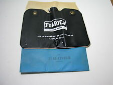 NOS FORD 1960s WINDSHIELD WASHER BAG WITH FLIP TOP