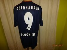 Rot Weiß Oberhausen uhlsport Matchworn Trikot 2010/11 + Nr.9 Schönfeld Gr.L