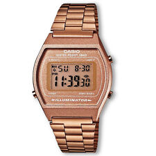 Casio B640WC-5AEF Illuminator 50m Quartz Rose Gold Bronze Retro Vintage