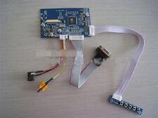 "LCD Drive Board Kit VGA+AV For 4.3"" Innolux AT043TN24 25 Display Remote Control"