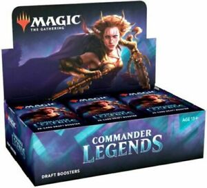Commander Legends Draft Booster Box - Magic the Gathering MTG - Ships Now!