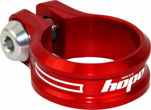 Bolt - Hope Bolt Seat Clamp, 31.8mm, Red - Seatpost Clamp