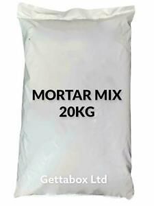 Mortar Mix - Cement & Sand Ready to Use 20KG BAG Unbranded