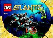 Lego Atlantis Monster Crab Clash 8056 Manta Warrior 8073