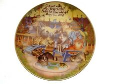 The Wonderful Wisdom of Cats Curious Cats Cat Collector Plate GB46