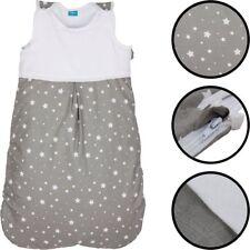 Sommerschlafsack (100% BAUMWOLLE) Baby Kind Schlafsack Fußsack Schlafanzug Sack