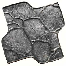 """RUBBER texture stamp mat STONE for printing on Concrete cement  """"Pebbles"""""""
