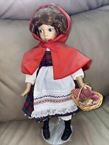 "13"" Dianna Effnee Doll Little Red Riding Hood"