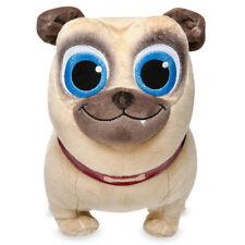 "Disney Junior Rolly Pug Plush Puppy Dog Pals Soft Stuffed Toy Small 12"""