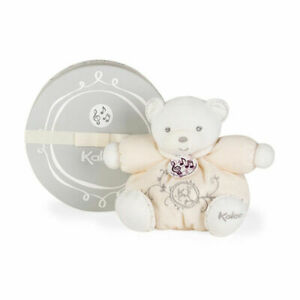 Kaloo Musical Chubby Bear Cream - Free Shipping - Brand New with tag