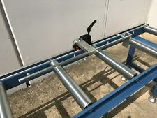 Calibrated Length Stop Roller Conveyor Kit, 360mm x 2000mm Linear Measuring Syst