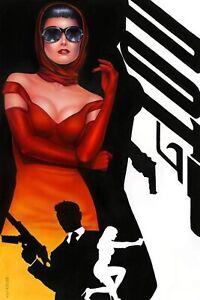 🚨🔥 DEPARTMENT OF TRUTH #12 MONTE MOORE Variant LTD 600 James Bond Homage