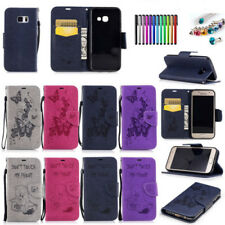 Leather Case Cover Wallet Card Holder Flip Stand Wallet For Samsung Galaxy Phone