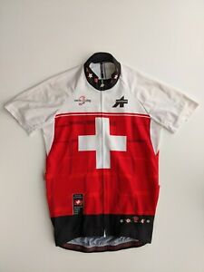 ASSOS MENS CYCLING SWISS JERSEY  SMALL GOOD CONDITION