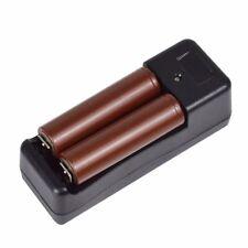 US - 2 x LG HG2 Battery 3000mAh High Drain 20A Flat Top &18650 Dual Charger Kit