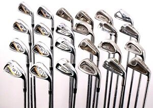 Lot of 24 Golf Club Single Irons Wilson Titleist Ping Mizuno PGA Below Avg. RH