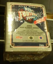 1991 UPPER DECK FOOTBALL HIGH SERIES FAC SEALED SET HOBBY NIB
