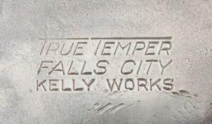 "Vintage True Temper ""FALLS CITY"" Kelly Works Axe w/Bevels Michigan Pattern NICE"