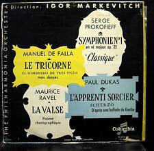 IGOR MARKEVITCH de falla le tricorne LP VG 33-FCX-203 France Mono Vinyl  Record