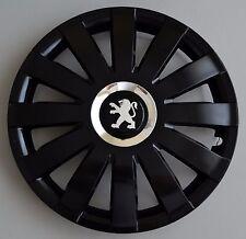 "16"" Peugeot Partner,Expert,407,308,... Wheel Trims / Covers, Hub Caps,black&silv"