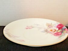 Noritake China Saucers Pink & Yellow Roses N435