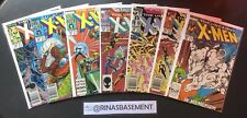 THE UNCANNY X-MEN #220 223 224 225 226 227 228 (7 Issue Run) Marvel comics lot
