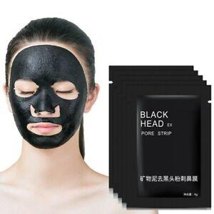 Nettoyant Masque Charbon 20 sachets Anti Points Noirs Acné Visage Black Mask