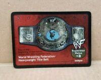 WWF Raw Deal World Wrestling Federation Heavyweight Title Belt Card 1/TR V1.0
