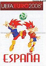 N°410 VIGNETTE PANINI MASCOTTE ESPANA SPAIN EURO 2008 STICKER