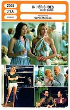FICHE CINEMA : IN HER SHOES - Collette,Diaz,MacLaine,Burgi,Hanson 2005
