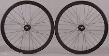 H Plus + Son SL42 Black Singlespeed Track Fixed Gear Bike Wheelset Wheels fx/fx