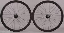 H Plus + Son SL42 Black Singlespeed Track Fixed Gear Bike Wheelset Wheels fx/fx