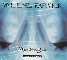 MAXI CD DIGIPACK 4T MYLENE FARMER L'AME STRAM GRAM DANCE REMIXES NEUF SCELLE