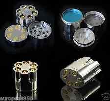 40MM Bullet Aluminium  Mill Pollen Presser Crusher CNC Herb Grinder
