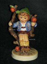 """Goebel Hummel 142 3/0 """"Herbst"""", apple tree boy, Junge auf Baum"""