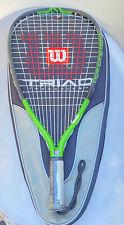 Wilson Triad 200 Green & Black Racquetball Racquet S-SM Grip With Case