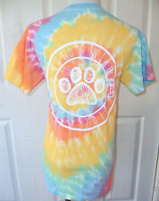 NEW MILO'S WISH COTTON CANDY TIE DYE WISH UPON A PAISLEY T SHIRT RAINBOW SMALL S